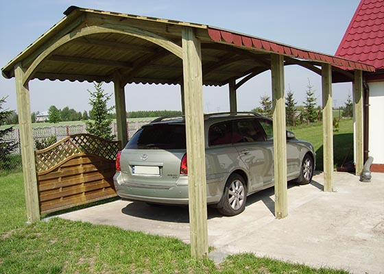 Alaska Single Carport